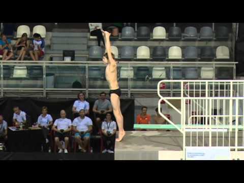 Boys A Platform, Senet Diving Cup Eindhoven 2016