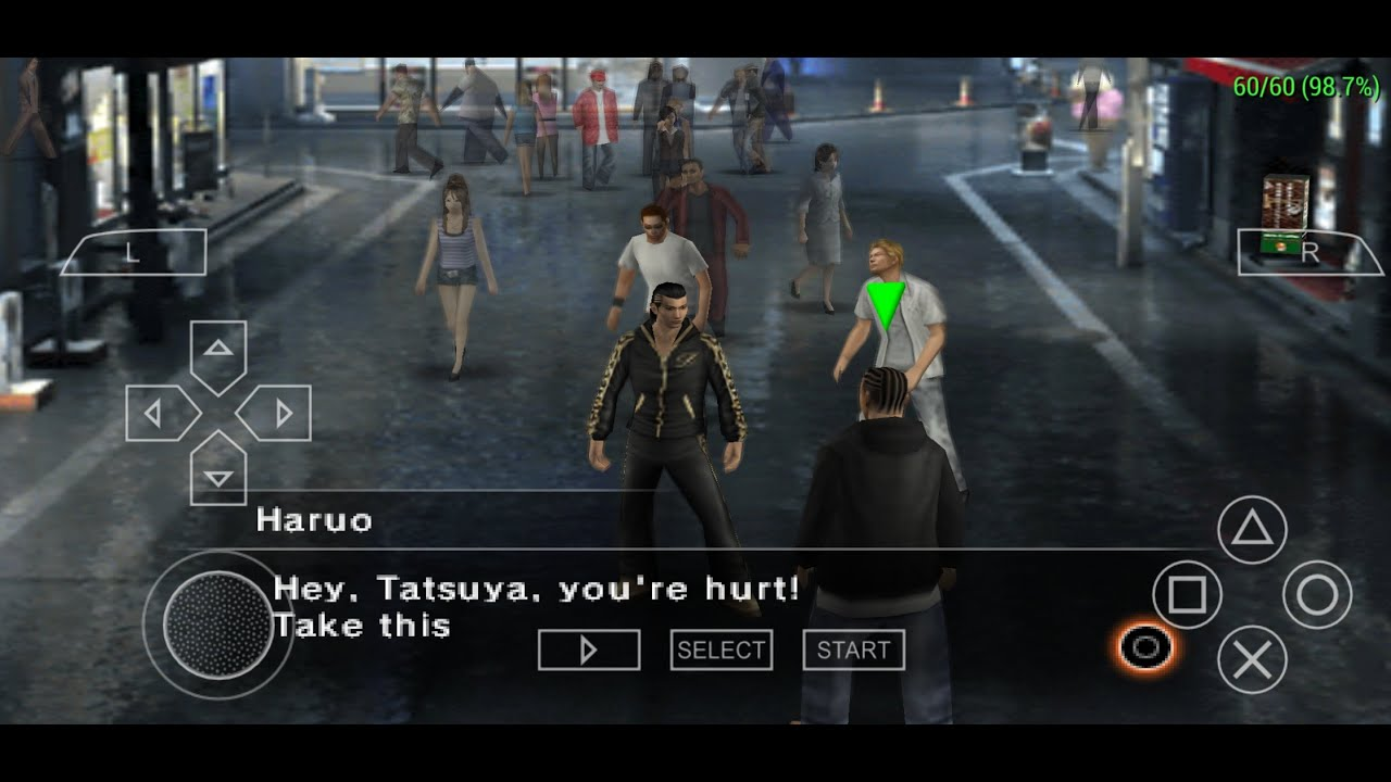 Kurohyou: Ryu ga Gotoku Shinshou PPSSPP ( Save Data ) 2