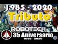 ROBOTECH The Macross Saga Intro Remasterizado 35 Aniversario Full HD