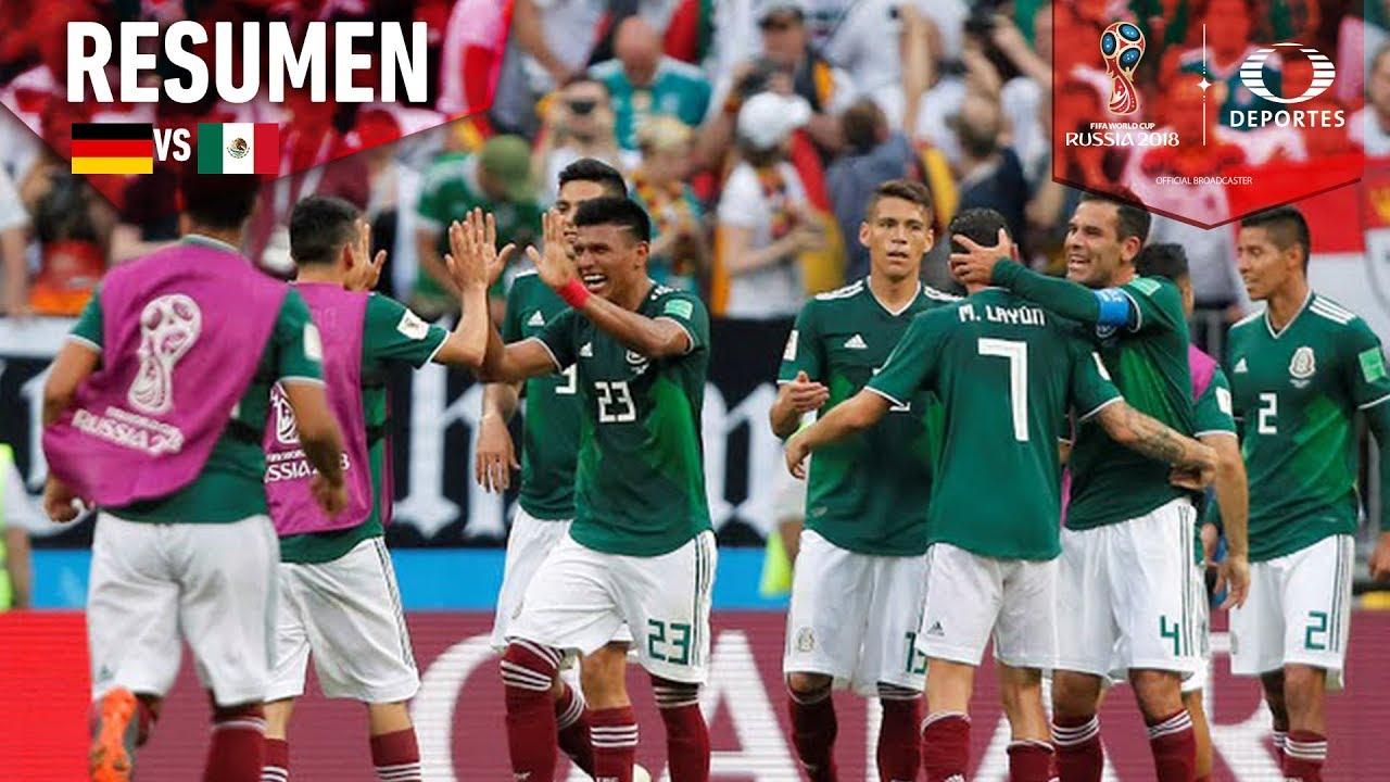 Resumen México vs Alemania (1-0) | Mundial Rusia 2018