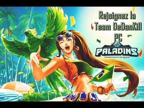 Paladins/PC Training Cassie Acrobatics