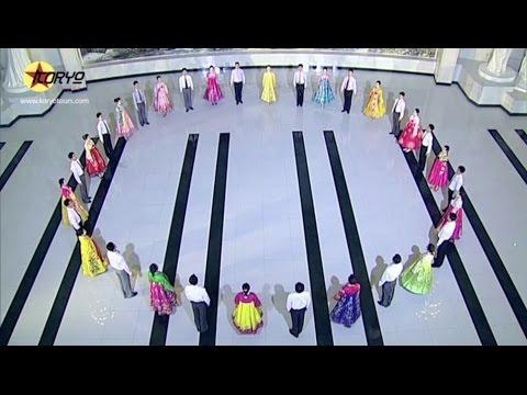 North Korean Mass Dance Instructional Video