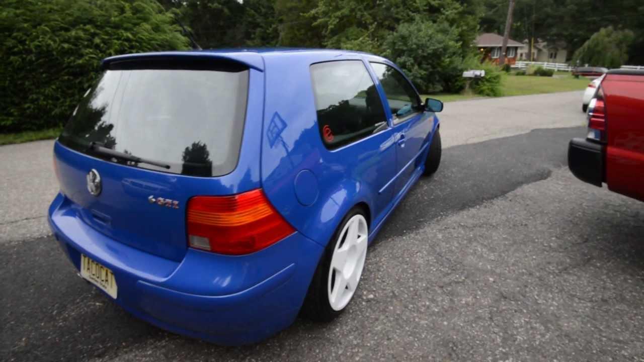 Volkswagen gti th anniversary edition jazz blue number