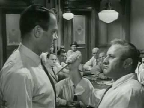 12 angry men interview When esteemed actor henry fonda saw a successful teleplay called 12 angry men written for cbs's studio one documentary, filmmaking, interview.
