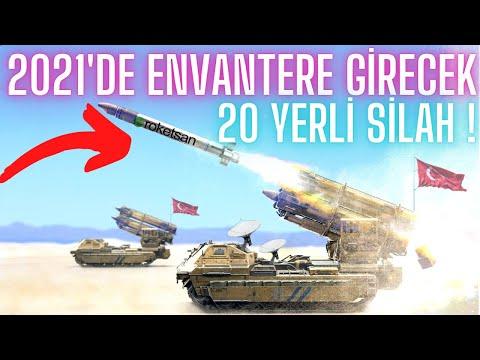 Türkiye'nin 2021'deki 20 Yeni silahı ! HEPSİ ENVANTERE GİRİYOR ! / Turkey's 20 New Weapons in 2021
