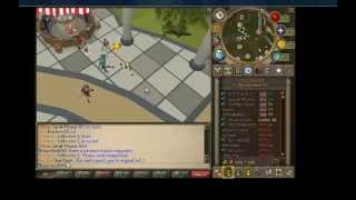 The definition of fail trolling on Runescape