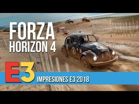 FORZA HORIZON 4 - Impresiones E3 2018