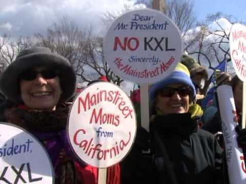 "Tens of Thousands March in DC ""Keystone Pipeline Got to Go"""