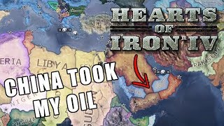 CHINA TOOK MY OIL | Vooperian Empire #11 | Hearts of Iron 4