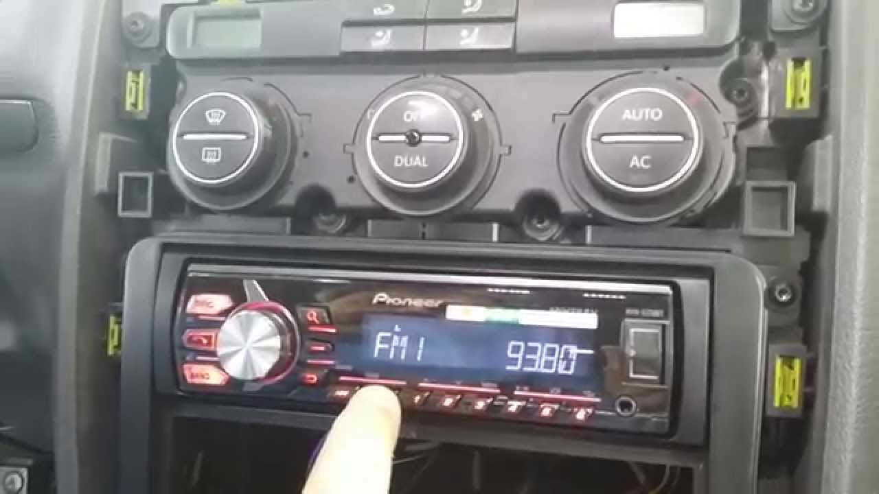Instalar equipo de sonido con manos libres en Volkswagen