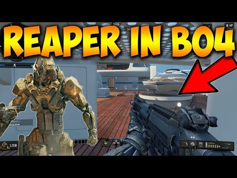 "NEW ""REAPER"" SKIN IN BLACKOUT!!! (Call of duty: Black ops 4 Blackout Hijacked Gameplay)"