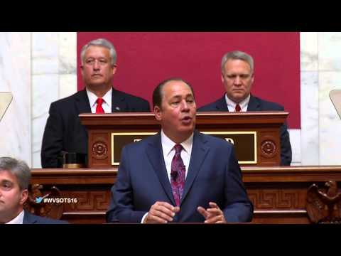 Governor Tomblin's 2016 State of the State Address