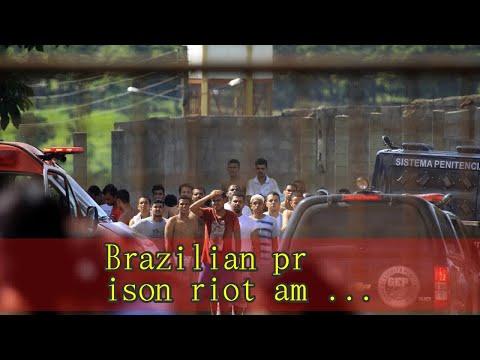 Brazilian prison riot among rival gangs leaves nine dead; scores escape