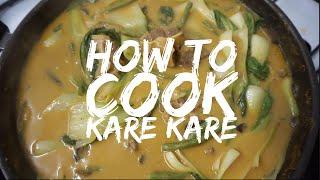 How to cook Kare Kare | Filipino Food