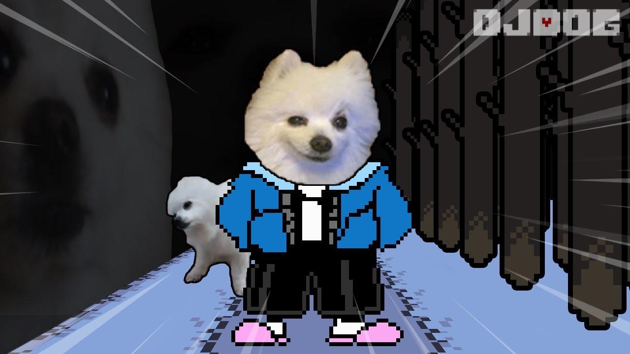 와! 갠즈 (언더테일 샌즈 브금 강아지 리믹스) UNDERTALE - sans. (Dog Cover)