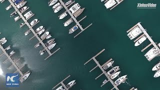 China from space: Satellite images of Hainan