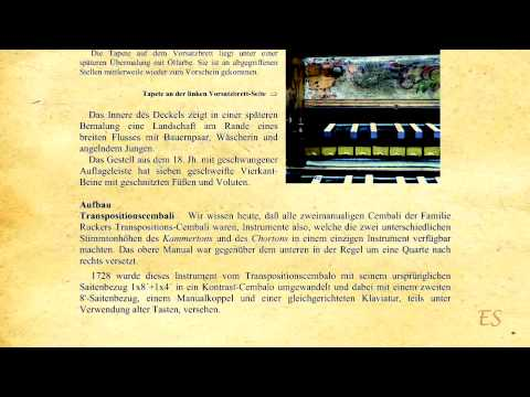 Corant for harpsichord - J.B. Loeillet