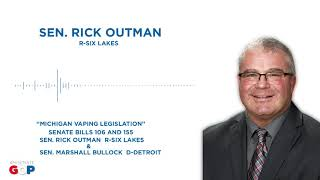 Sen. Outman and Sen. Bullock discuss vaping legislation