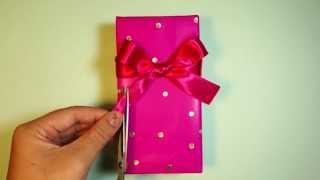 如何打單向禮物蝴蝶結  How to tie a gift bow