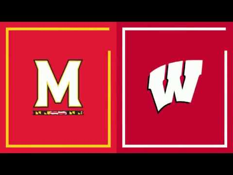 Wisconsin Badgers - UW MBB: #19 Maryland holds off Wisconsin 64-60