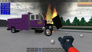 Roblox RP - MFD #2 - Commercial Vehicle