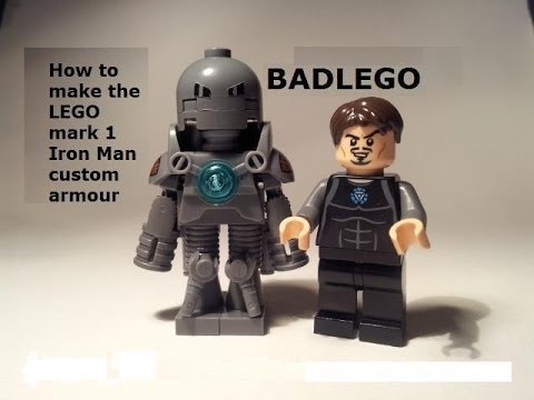 Lego Custom Iron Man Mark 1 Tutorial - YouTube