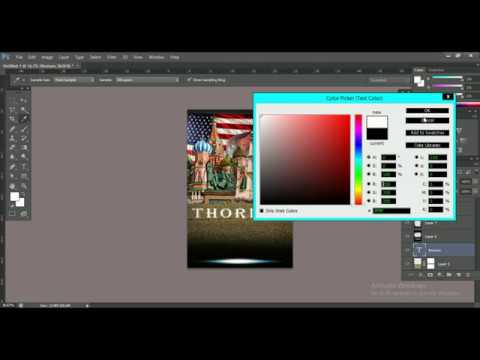 How to desing a professional book cover photoshop tutorial 2019 thumbnail