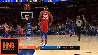 Trevor Booker Injury / Thunder vs Sixers
