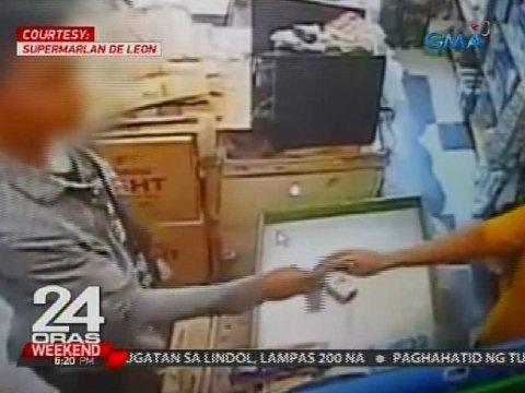 24 Oras: Lalaki, bigong maloko ng palit-pera modus ang isang tindera
