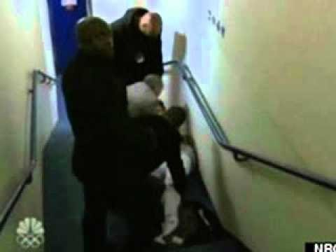 Justin Bieber Falls Down Stairs Unconscious.