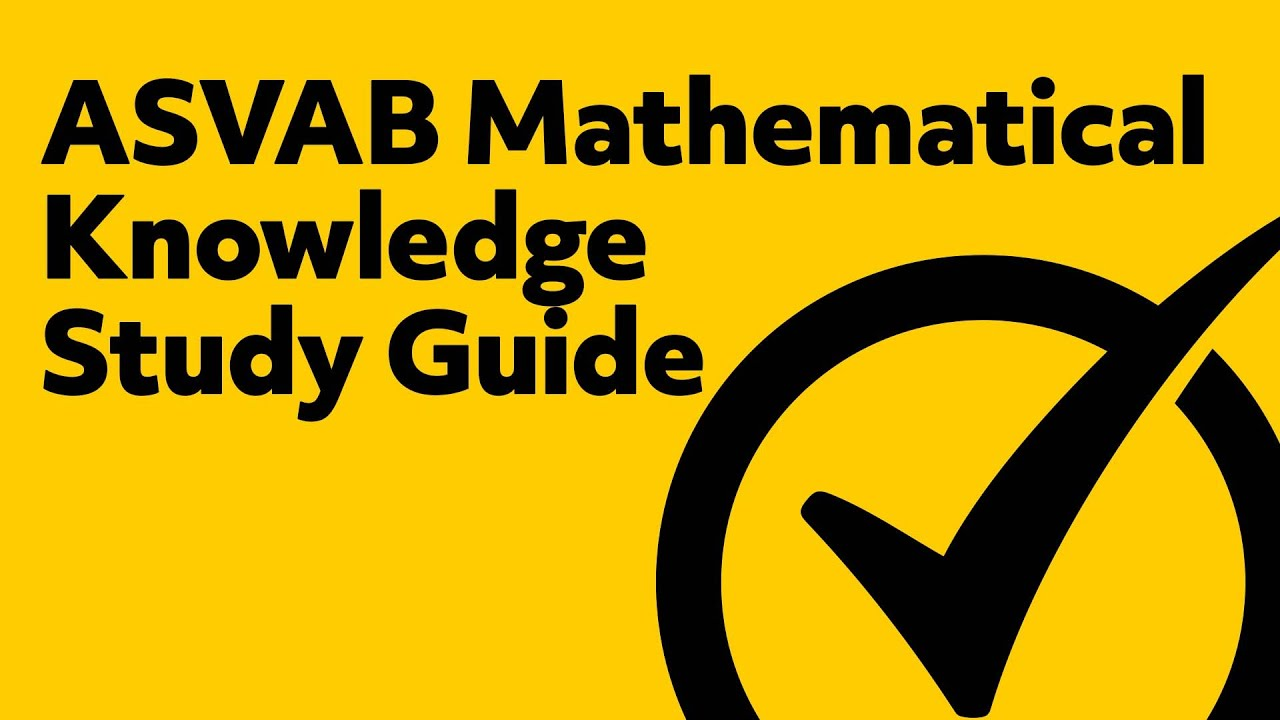 image about Asvab Printable Study Guide titled ASVAB Math Train Look at Concerns (up to date)