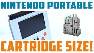 Game Cartridge-Sized Nintendo Portable
