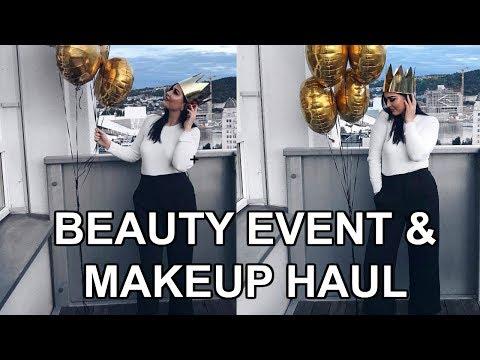 VLOG     MAX FACTOR-EVENT OG BEAUTY HAUL     Helene Heméra