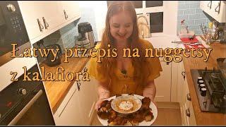 Szybki i łatwy przepis na nuggetsy z kalafiora