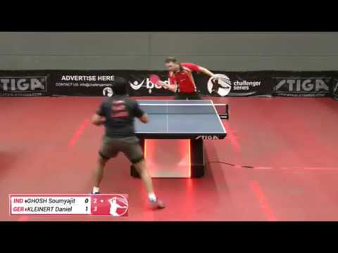Soumyajit Ghosh Vs Daniel Kleinert (Challenger Series, April 1st 2019, Group Match)