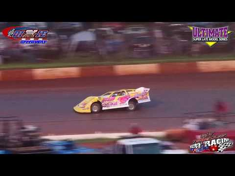 Ultimate Super Late Model Qualifying @ Dixie Speedway (7-28-18)