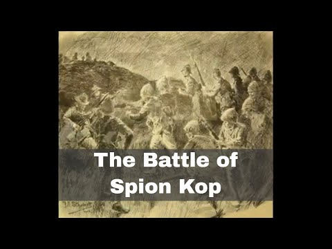 23rd January 1900: British troops attack Spion Kop in the Second Boer War