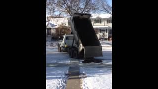Dump Truck FAIL Edmonton Alberta