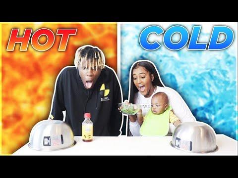 HOT VS COLD CHALLENGE!!!