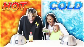 HOT VS COLD CHALLENGE!!!