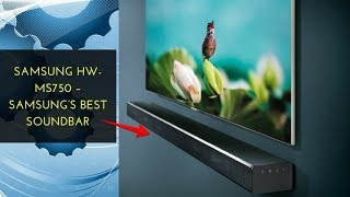 Samsung HW MS750 – Samsung's best soundbar