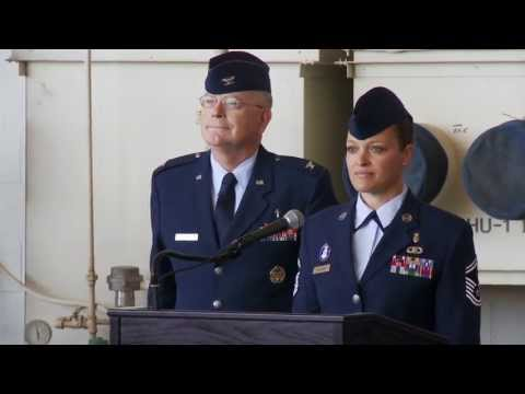 60th Air Mobility Wing Change of Command Ceremony - 16 July