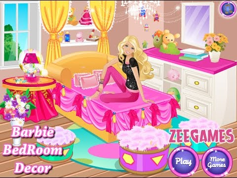 Barbie Bedroom Decor   GAMES FOR KIDS  HD 1080p   YouTube Barbie Bedroom Decor   GAMES FOR KIDS  HD 1080p. Barbie Bedroom Decor. Home Design Ideas