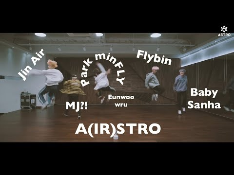 ASTROs All Night -  What You Didnt Notice (dance practice)