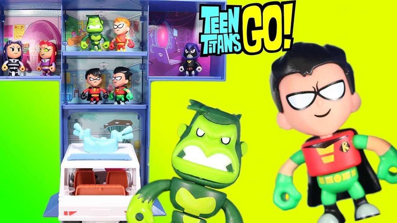 Mini figure mini figurine series 2 Mattel Toys Teen titans go