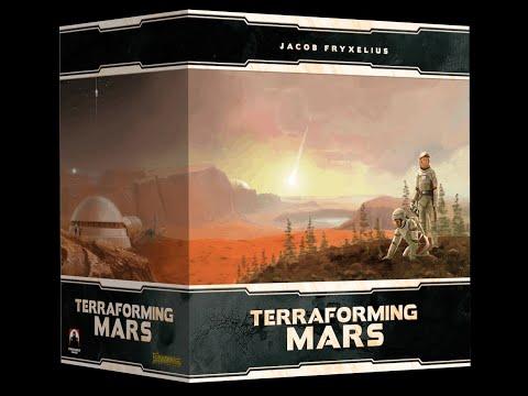 Terraforming Mars - Big Box Kickstarter - Unboxing |