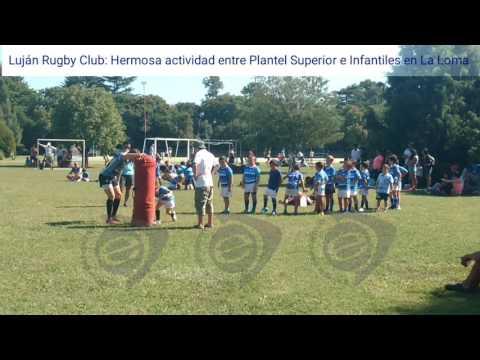 Luján Rugby Club: Actividad conjunta entre grandes y peques