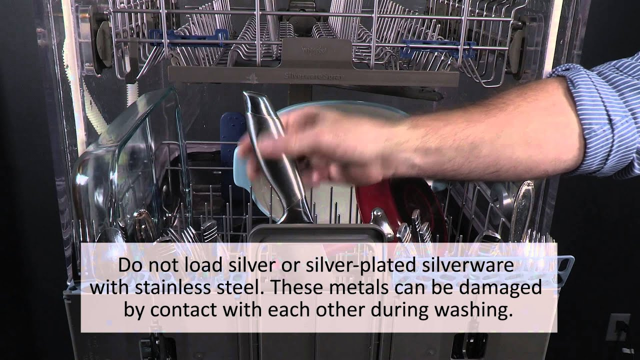 video how to properly load silverware