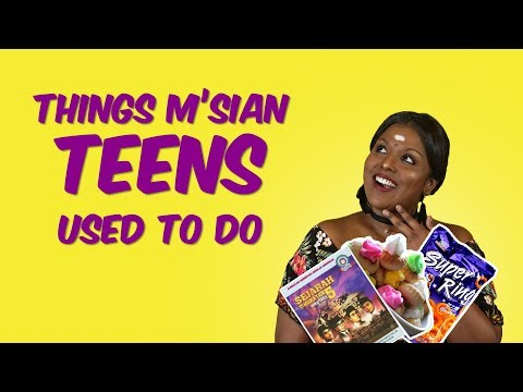 [NANDINI SAYS] 7 Things Malaysian Teens Did Growing Up | Presented by FashionValet