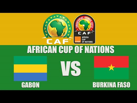 Gabon vs Burkina Faso | African Cup of Nations 2015 | Group A